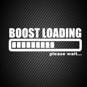 Sticker Boost loading